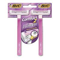 Aparelho de Depilar BIC Comfort 2 Women com 2 unidades - Cod. 070330713406
