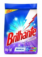 Detergente em Pó Brilhante Toque de Maciez 1kg - Cod. 7891150023598