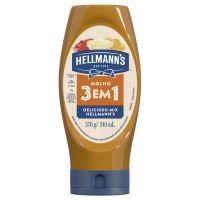 Molho 3 em 1 Hellmann's Squeeze 370g - Cod. 7891150027824