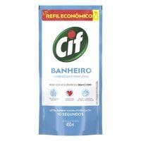 Refil Limpador CIF Ultra Rápido Banheiro Sem Cloro 450ml - Cod. 7891150038561