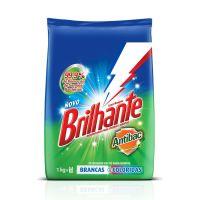 Detergente em Pó Brilhante Multi Tecidos Antibac 1kg - Cod. 7891150039292