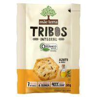 Biscoito Orgânico Tribos Azeite 50g - Cod. 7896496917006