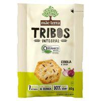 Biscoito Orgânico Tribos Cebola 50g - Cod. 7896496917044