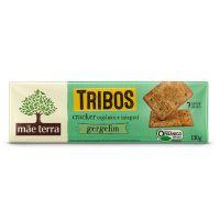 Biscoito Cracker Orgânico Tribos Gergelim 130g - Cod. 7896496917525