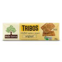 Biscoito Cracker Orgânico Tribos Original 130g - Cod. 7896496917501