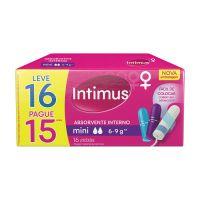 Absorvente Interno Intimus Mini 16un - Cod. 7896007542857