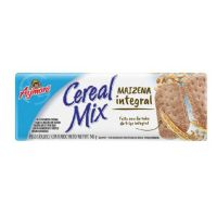 Biscoito Aymoré Maizena Integral 145g | Caixa com 40 - Cod. 7896058258028C40