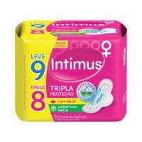 Externo Seca Intimus Gel Tripla Protecao C/ABAS 9un - L9P8 - Cod. 7896007547647C6