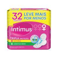 Externo Seca Intimus Gel Tripla Protecao C/ABAS 32un - L+P- - Cod. 7896007544059C5