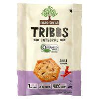 Biscoito Orgânico Tribos Mãe Terra Chili 50g - Cod. 7896496917037