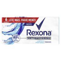 Sabonete Rexona Limpeza Profunda 84g - Cod. 7891150068551