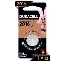 Pilha Moeda CR2016 DURACELL - Cod. 41333101101