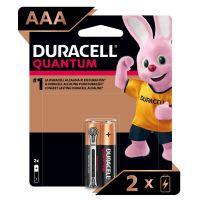 Pilha Alcalina Palito AAA DURACELL Quantum com 2 unidades - Cod. 41333667003