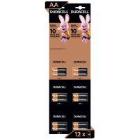 Pilha Alcalina AA Pequena DURACELL Cartela com 12 unidades - Cod. 41333014630