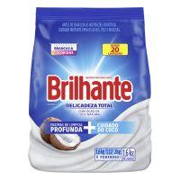 Lava Roupas Sanitizante em Pó Brilhante Delicadeza Total 1,6Kg - Cod. 7891150071179