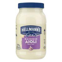 HELLMANNS MAI AIOLI PET 500G | Caixa com 1 - Cod. 7891150072077