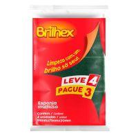 Esponja Abrasiva Dupla Face Brilhex Leve 4 Pague 3 - Cod. 7897750783665