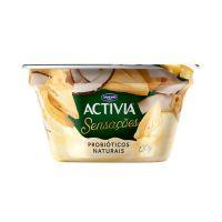 Leite Fermentado Activia Pedacos Abacaxi/Coco 120G - Cod. 7891025113706