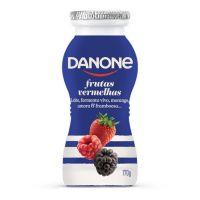 Iogurte Danone Líquido Frutas Vermelhas 170G   Caixa com 1 - Cod. 7891025111993