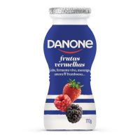 Iogurte Danone Líquido Frutas Vermelhas 170G - Cod. 7891025111993