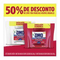 Omo Tira Manchas Roupas Coloridas Bag 380g + 50% de Desconto em Omo Tira Manchas Roupas Brancas Bag 380g - Cod. 7891150067493