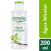 Água Micelar Simple  200ml | 3 Unidades - Cod. C14962
