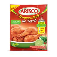 Tempero Arisco Tempera Mais Limão, Salsa e Cebolinha 21g | 5 unidades - Cod. C14996