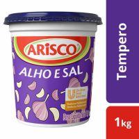 Tempero Arisco Completo Alho e Sal 1kg | 1 unidades - Cod. C15005