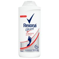Talco Desodorante para os Pés Rexona Efficient Antibacterial 100g | 3 unidades - Cod. C15008