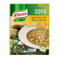 Sopa Knorr Legumes com Macarrão 73g | 10 unidades - Cod. C15031