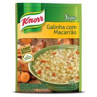 Sopa Knorr Galinha com Macarrão 73g | 10 unidades - Cod. C15032