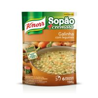 Sopa Knorr Galinha com Legumes 194g | 2 unidades - Cod. C15033