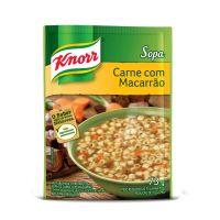 Sopa Knorr Carne com Macarrão 73g | 10 unidades - Cod. C15038