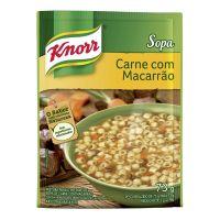 Sopa Knorr Carne com Macarrão 38g | 10 unidades - Cod. C15039