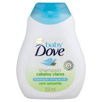 Shampoo Baby Dove Hidratação Enriquecida 200ml | 4 unidades - Cod. C15150