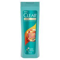 Shampoo Anticaspa Clear Feminino Detox Antipoluição 200ml | 3 Unidades - Cod. C15163