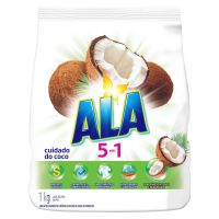 Sabão em Pó Ala 5 em 1 Cuidado do Coco 1kg | 16 unidades - Cod. C15263
