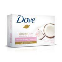 Sabonete em Barra Dove Delicious Care Leite de Coco 90g | 6 unidades - Cod. C15372