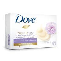 Sabonete em Barra Dove Delicious Care Creme e Flor de Peônia 90g | 6 unidades - Cod. C15374
