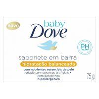 Sabonete em Barra Baby Dove Hidratação Balanceada 75g | 6 unidades - Cod. C15377