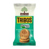 Pacote com 3 Biscoitos Orgânico Mãe Terra Tribos Coco 16,5g | 2 unidades - Cod. C15406