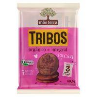 Pacote com 3 Biscoitos Orgânico Mãe Terra Tribos Cacau 16,5g | 2 unidades - Cod. C15407