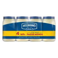 Pack com 4 Maioneses Hellmann's Tradicional 500g | 3 unidades - Cod. C15411
