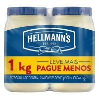 Pack com 2 Maioneses Hellmann's Tradicional 500g | 6 unidades - Cod. C15412