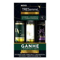 Oferta Tresemmé Detox Capilar Shampoo 400ml + Condicionador 200ml + Shampoo a Seco - Cod. C15416