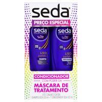 Oferta Seda Liso Perfeito Shampoo 325ml + Condicionador 325ml  | 15 unidades - Cod. C15428