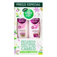 Oferta Seda Hidratação Antinós Shampoo 325ml + Condicionador 325ml - Cod. C15429