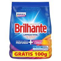 Oferta Sabão em Pó Brilhante Limpeza Total 800g | 16 unidades - Cod. C15438