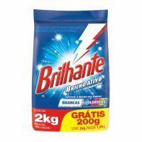 Oferta Sabão em Pó Brilhante Brilho Ativo 2kg | 7 unidades - Cod. C15440