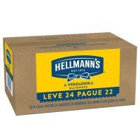 Oferta Maionese Hellmanns Tradicional 200g | 24 unidades - Cod. C15449